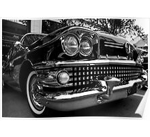 Black 1958 Buick Limited Poster