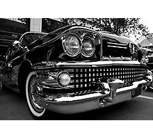 Black 1958 Buick Limited Photographic Print