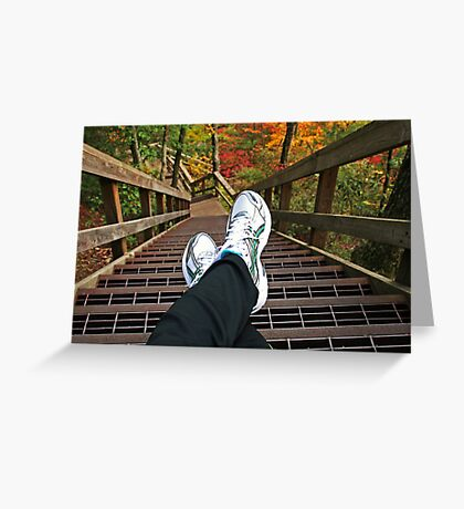 One Step at a Time... Greeting Card