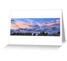 July 2015 Winnemucca nv. sunset Greeting Card