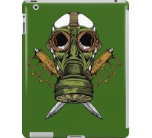 Gas Mask and Trench Knife  iPad Case/Skin