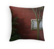 Restricted view Throw Pillow