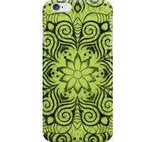 Swirly Stuff (Black Version) iPhone Case/Skin