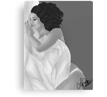 Lana Del Rey Painting  Canvas Print
