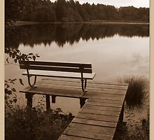 A Moment of Peace ~ Lake Lugenau, Boebing by ©The Creative  Minds