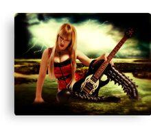 High Voltage Rock n Roll Canvas Print