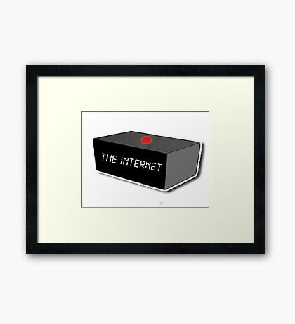 The Internet - The IT Crowd Framed Print