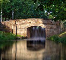 The Bridge - Grand Canal, Dublin, Ireland by Mark Richards