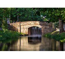 The Bridge - Grand Canal, Dublin, Ireland Photographic Print