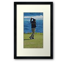 Perfect Swing Framed Print