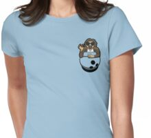 Pocket Dude (04) Womens Fitted T-Shirt