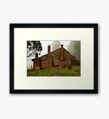 """""""Memories in the Mist"""" Framed Print"""