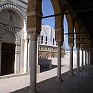 A mosque in medina of Tunis by Lukasz Godlewski