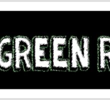 The Green Room TV Shake Sticker