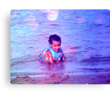here is the smile that will break a thousand hearts Canvas Print
