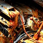 Ars-en-Ré - Old, dirty and rusty. by Jean-Luc Rollier