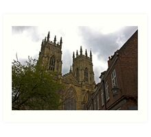 York Minster Art Print