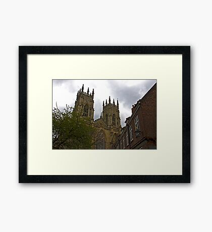 York Minster Framed Print