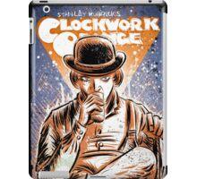 A Clockwork Orange Art Stanley Kubrick Malcolm McDowell Patrick Magee Michael Bates joe badon movie sci fi science fiction iPad Case/Skin