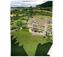 Stokesay Castle gatehouse Poster