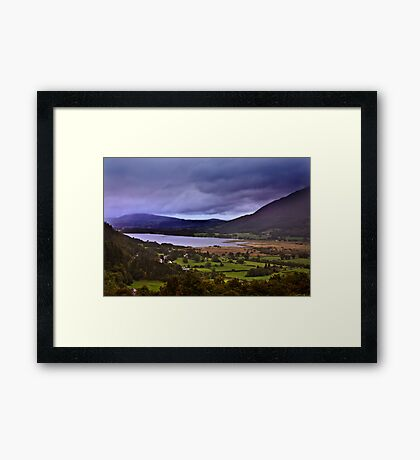 Dawn - In The Lakes. Framed Print