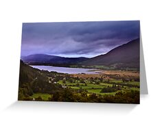 Dawn - In The Lakes. Greeting Card