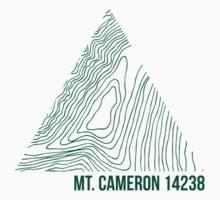 Mount Cameron Topo by januarybegan