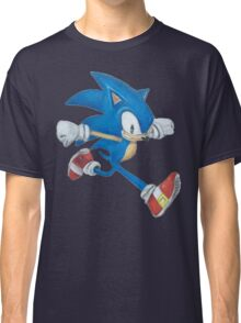 Sonic the Hedgehog Prismacolor Drawing Classic T-Shirt