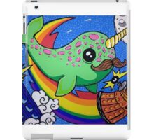 Narwhal in Space iPad Case/Skin