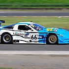 Kerrick Series Round 4 - Eastern Creek | Fivestar Fencing | Dean Camm | Chevrolet Corvette GTS  by Gino Iori