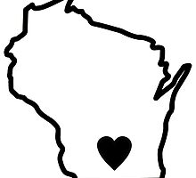 My heart will always be in Wisconsin by Anna Sumi