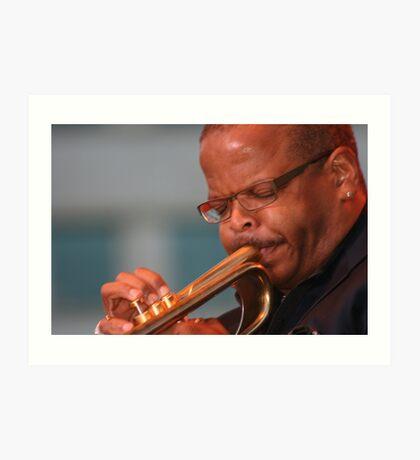 Terence Blanchard - DJF - 2010 - Jazzdom Art Print