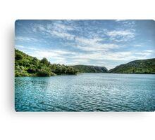 Krka River Canvas Print