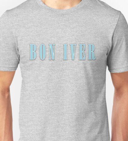 BON IVER - Logo  Unisex T-Shirt