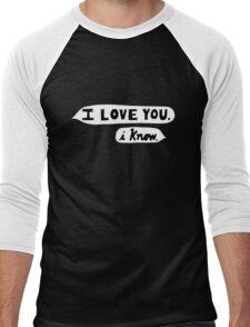 I Love You, I Know - Star Wars Men's Baseball ¾ T-Shirt