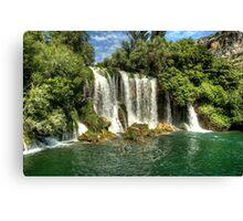 Krka Falls Canvas Print