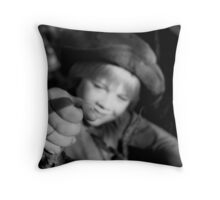 Movin' On Up Throw Pillow