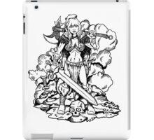 Barbarian Queen iPad Case/Skin