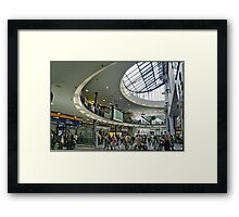 main station Framed Print