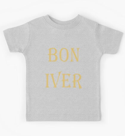 BON IVER Logo (SALE!) Kids Tee