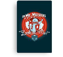 Merrie Mr. Meeseeks - shirt Canvas Print