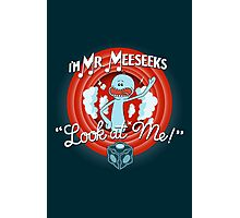 Merrie Mr. Meeseeks - shirt Photographic Print