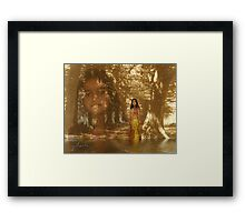 Enchanted Forest - collaboration with Alaskaman53 Framed Print