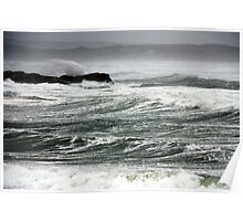 Wild Angry Sea Poster