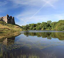 Morton Castle by Maria Gaellman