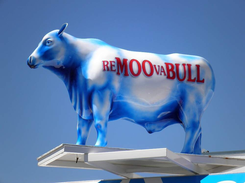 Re-MOO-va-BULL, 2nd in an Intermittent Series by Gryphonn