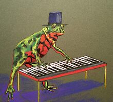 Fantastic Piano Player by Susie a'Beckett