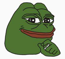 smug frog/smug pepe v2 by JoeDaEskimo