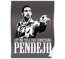 Jesus The Big Lebowski T shirt Let Me Tell You Something Pendejo  Poster