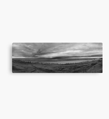 Natural Landscape Panorama Canvas Print